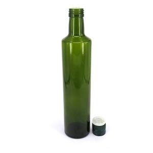Glass Oil Cooking Tool Olive Bottle/ Olive Oil Bottle Cap and Insert