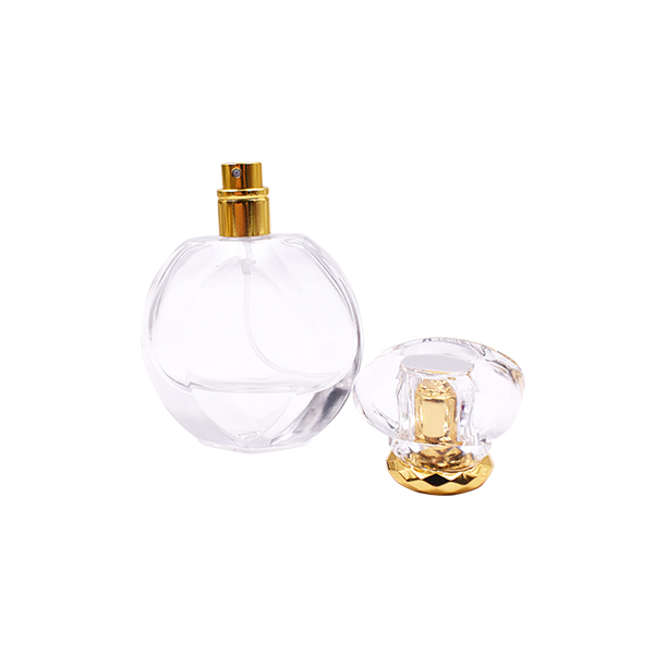 Lowest Price for Beauty Perfume Bottle - 20ml 30ml 50ml Luxury White Black Square Glass Perfume Bottle – LOM detail pictures