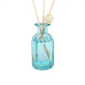 Top Suppliers Portable Perfume Bottle - Perfume bottle Round 100ml glass reed diffuser bottle for room decore  – LOM