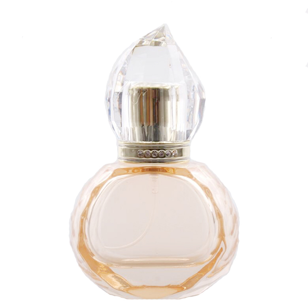 Chinese Professional Hex Jars - 30ml Round Crystal Perfume Bottle Bulb – LOM Featured Image