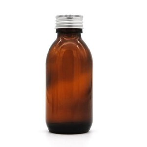 120ml 4oz Pharmacy Medicine Bottle With Tamper Seal Proof Cap