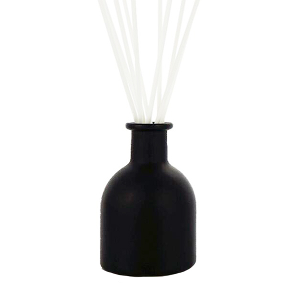 OEM/ODM China Glass Cosmetic Jar 200ml - 200ml Round Black Reed Diffuser With Scented Oil, Cutesy Candle Set. – LOM