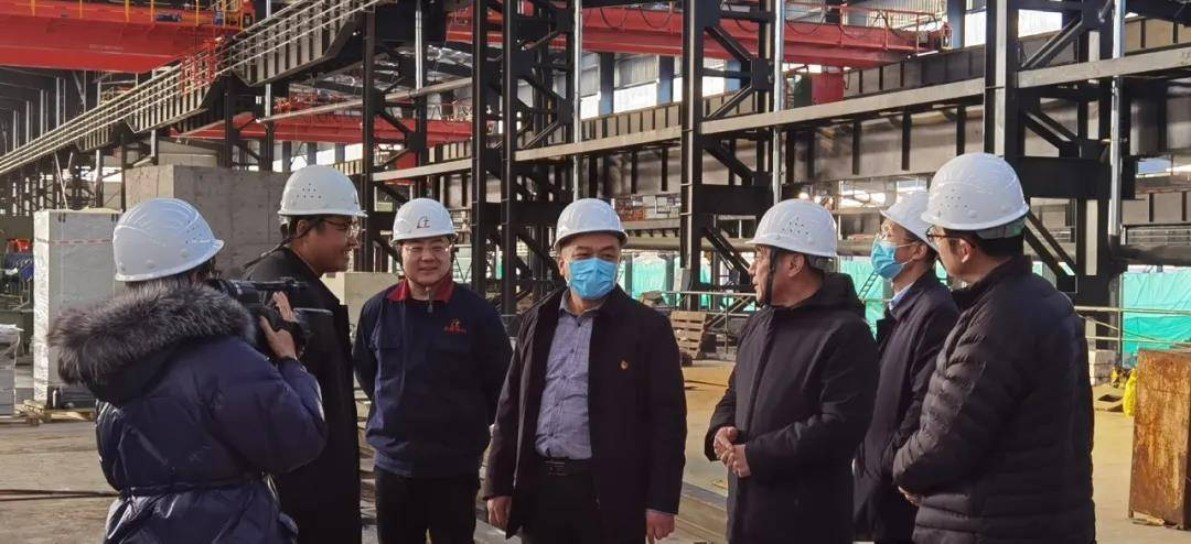 Head officers of Indu District Government Visit Our Φ114 Pipe Project