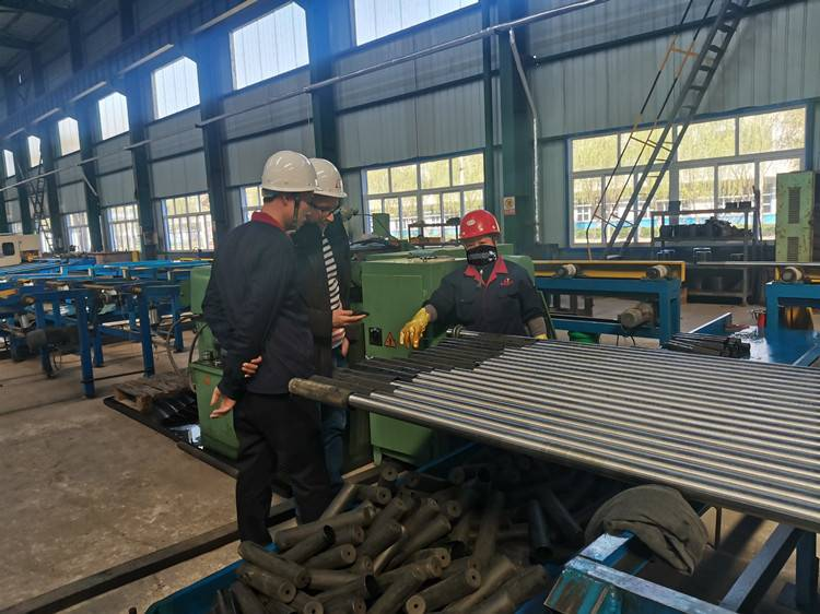 Dextra Group VIsit Anyang Longteng Heat Treatment Material Co.,Ltd