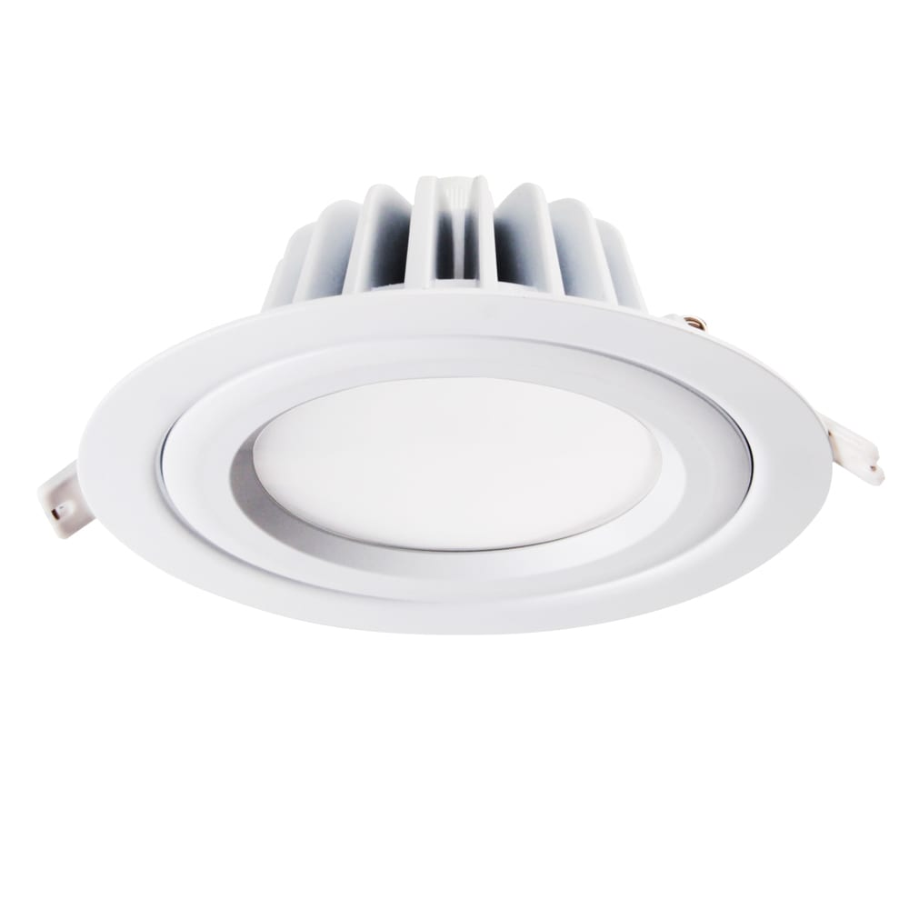 Wholesale Light Canopy Factory - 14W RGBW smart downlight fittings Bluetooth Wifi Alexa 14watt Smart Led Mesh Light – Lowcled detail pictures