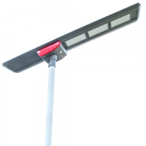 100W all in one solar led street light