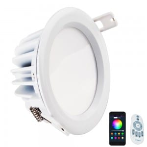 14W RGBW downlight atamai whare Nihokikorangi Wifi Alexa 14watt Smart Tataki mata Light