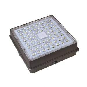 120W high bay petrol station lights surface mounted led canopy fixture 120 watt for warehouse garage