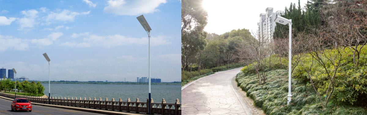 6W Solar Street Lighting application