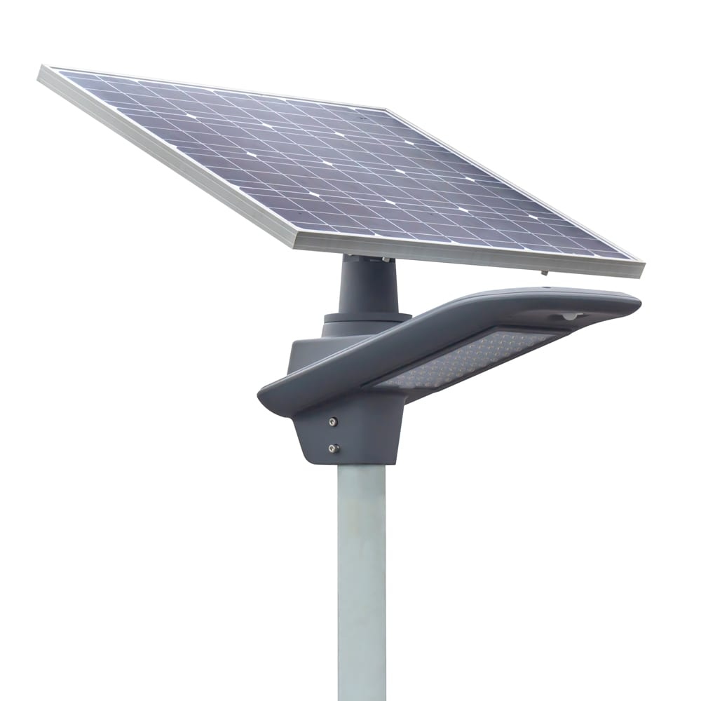 Discount Price Solar Led Lighting - 30W Semi integrated Solar LED Street Light with Rotation Solar Panel solar garden light 30watt – Lowcled
