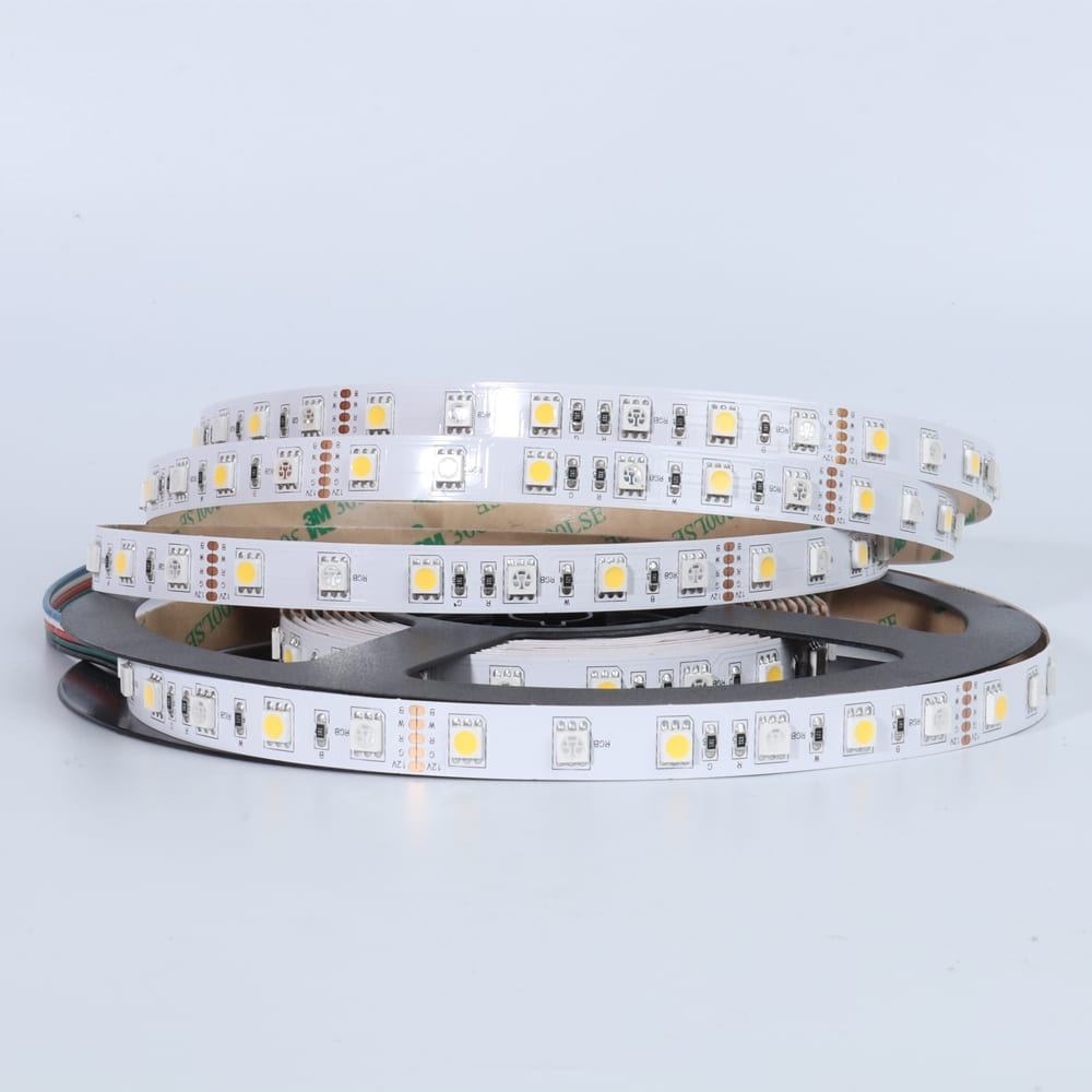 SMD5050RGB+SMD5050WW LED Strip Light Featured Image
