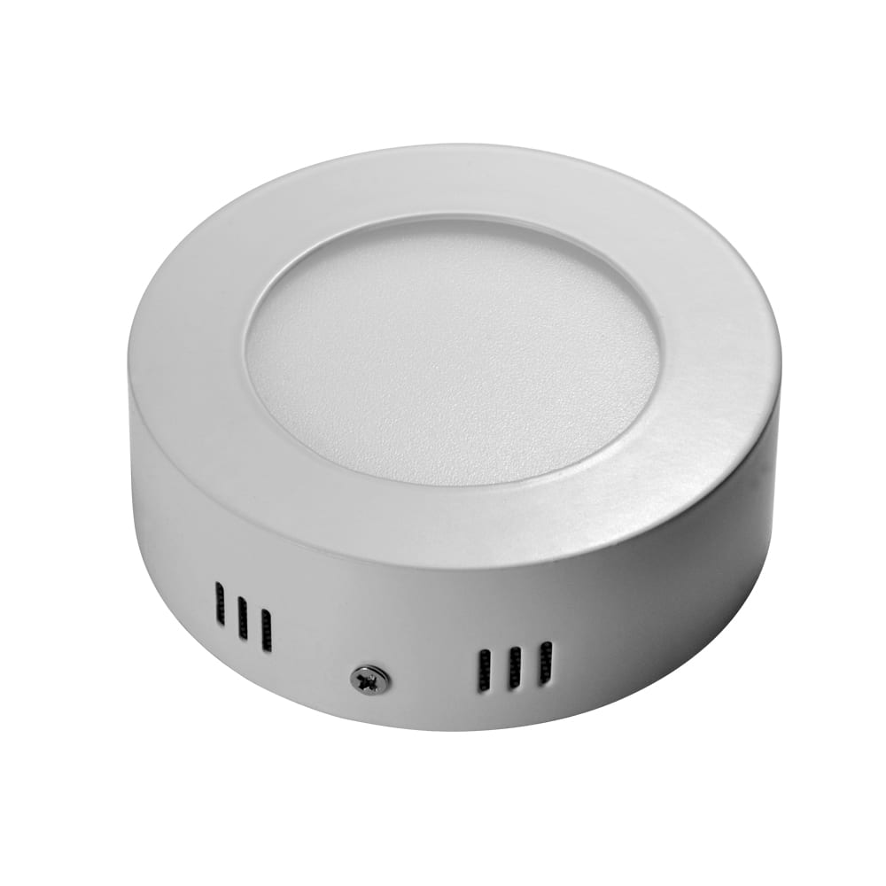 Wholesale Wifi Smart Bulb Manufacturers - Round Aluminum 6W Surface Mounted Panel 6watt LED Light for Kitchen – Lowcled Featured Image