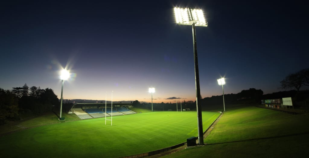 stadium light application