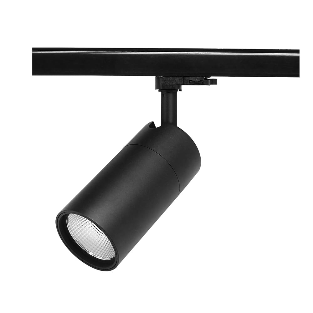 Factory Outlets Led Solar Street Light - 25W LED Track Light 25watt Factory price ,black ,white color ,2,3,4 wire ,track light, flicker free magnetic track light indoor commercial lighting  – Lowcled