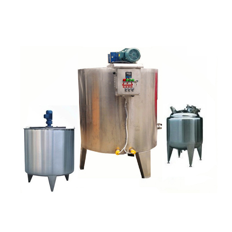 High quality automatic 500-1000L chocolate melting machine holding tank
