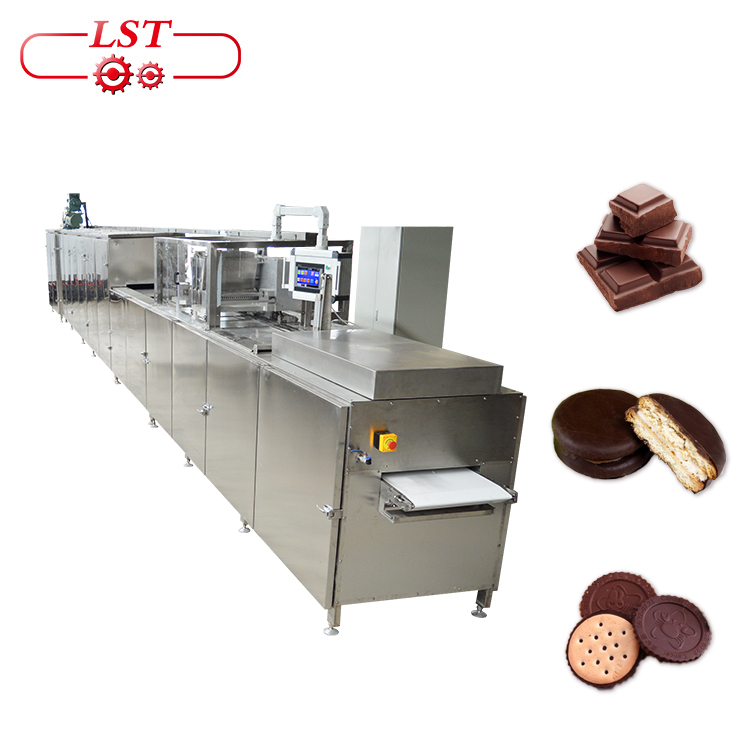Factory Supply Chocolate Depositing Line  Machine Automatic Hot Chocolate Machine