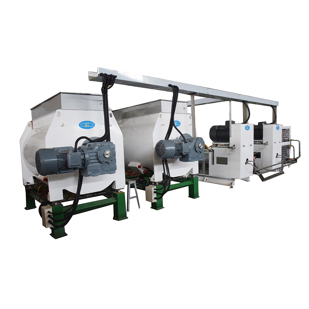 Industrial continuous 500kg chocolate ball mill