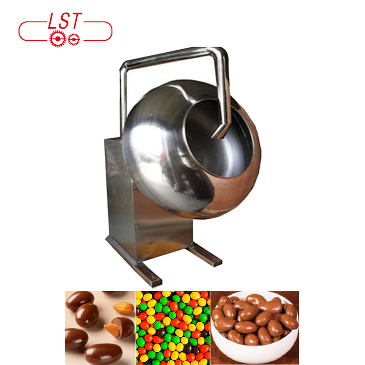 Automatic chocolate glaze dragee machine chocolate candy coating pan