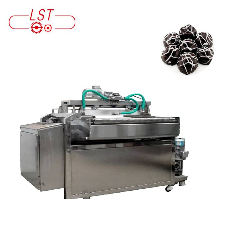 Factory price automatic industrial cookies chocolate decorating molding machine