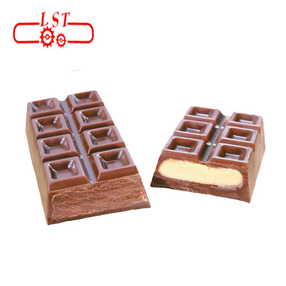 Combined type Mould heating vibrating cooling machine with chocolate depositing  machine Featured Image
