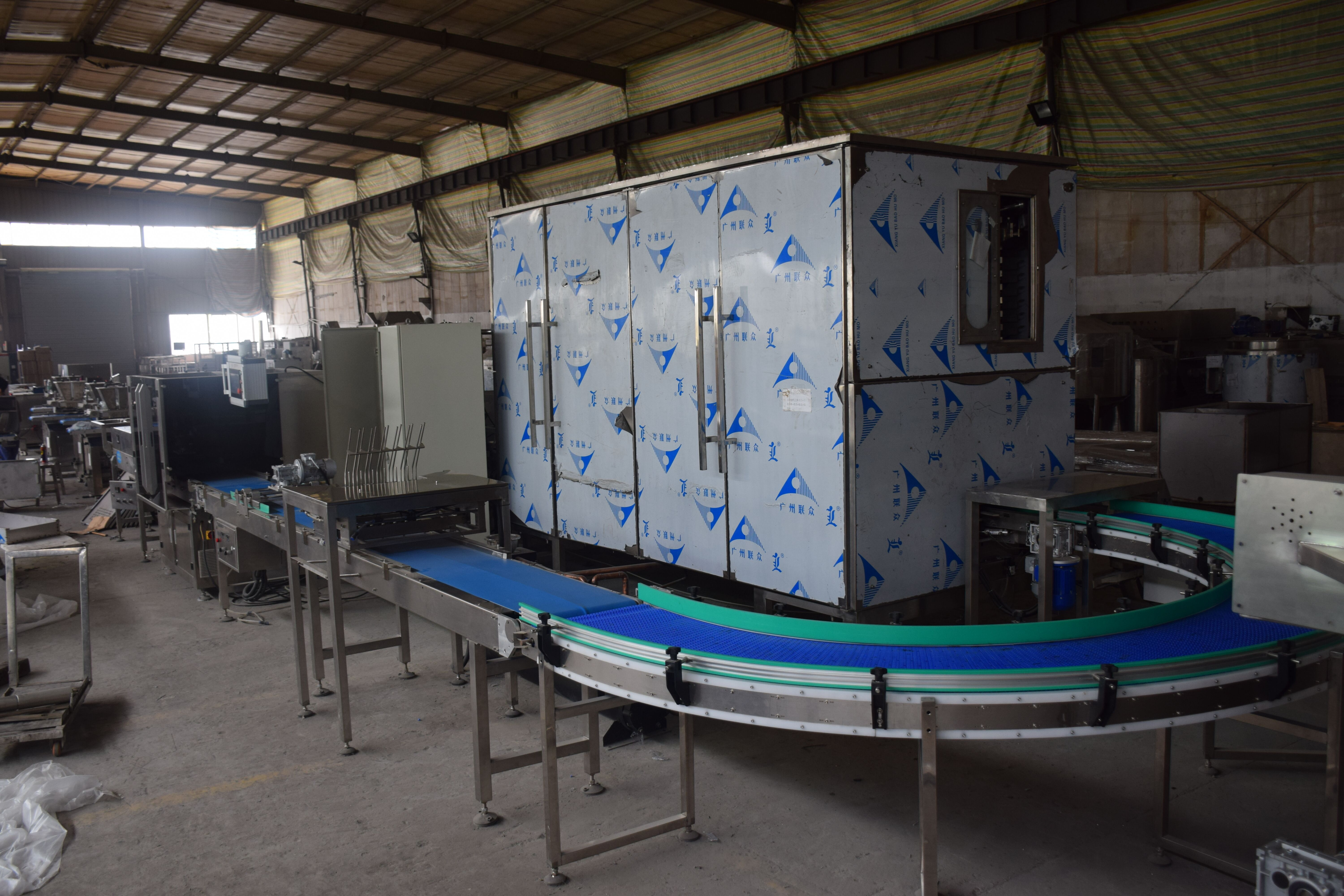 LST Quality chocolate bar making machine production line chocolate stick biscuit molding machine