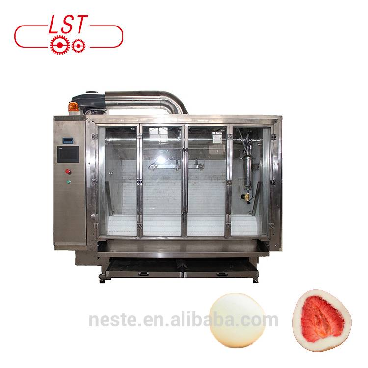 High Quality Chocolate Ball Coating Making Machine For Small Production