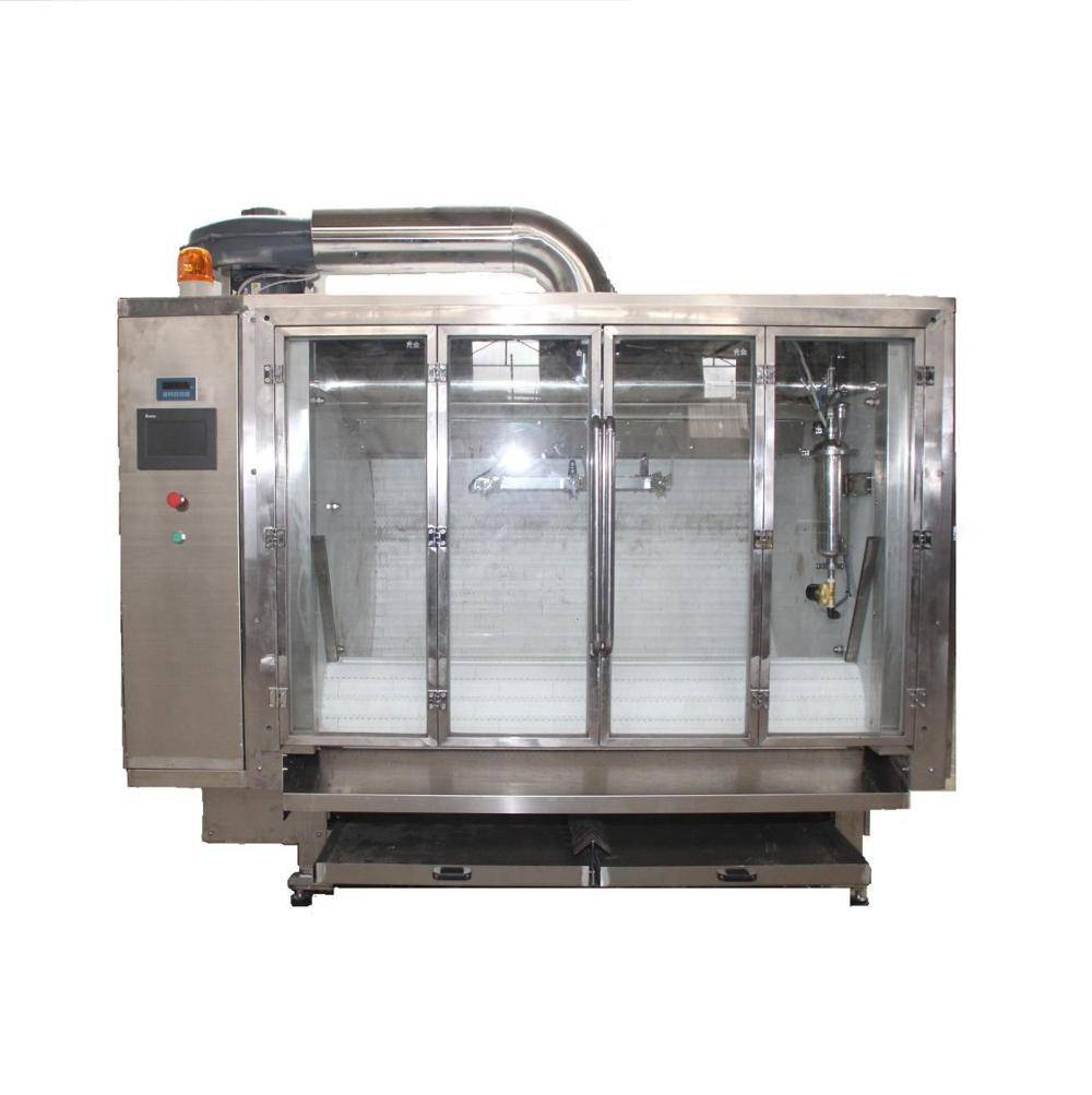 Hot-selling Semi-automatic Belt type Chocolate Coating and polishing machine