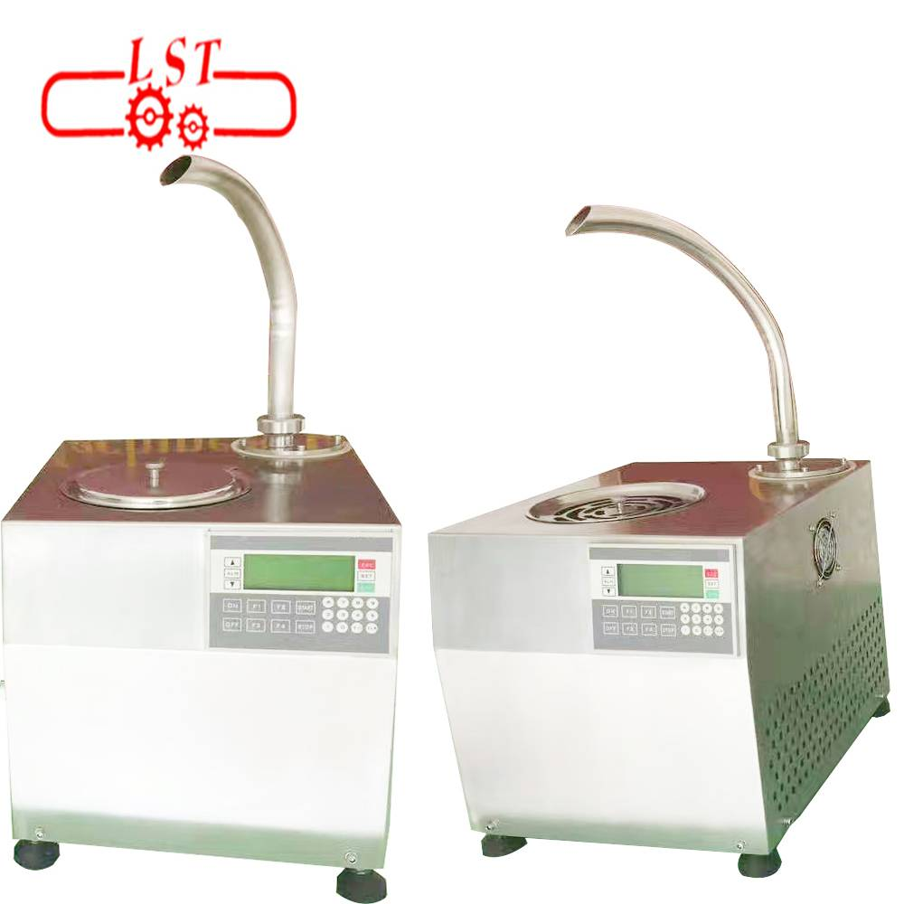 Hot Chocolate Dispenser Line Production Stainless Steel Polishing Machine