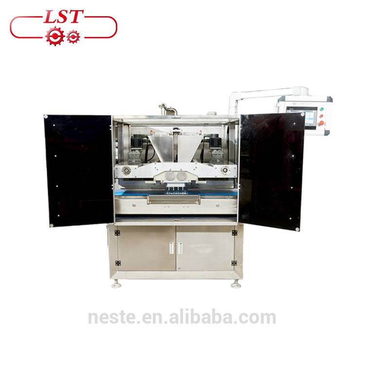 Pouring chocolate molding machine, chocolate moulding line Featured Image