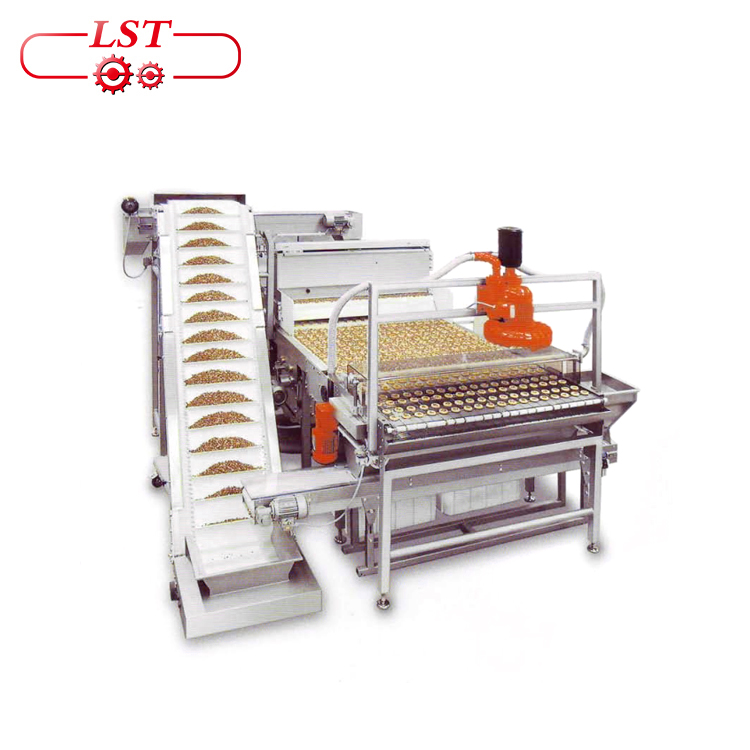 atuomctic sprinkling machine chocolate coating machine chocolate machine