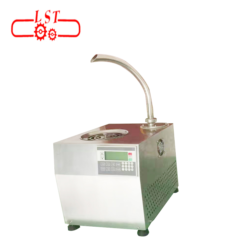 SS304 material small chocolate tempering machine and filling