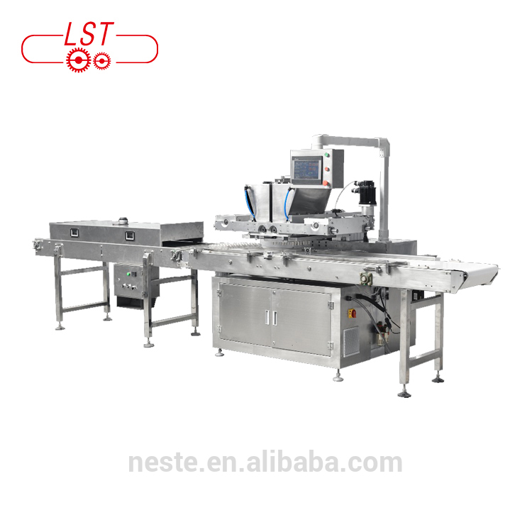 one shot chocolate machine chocolate depositor machine auto chocolate molding line
