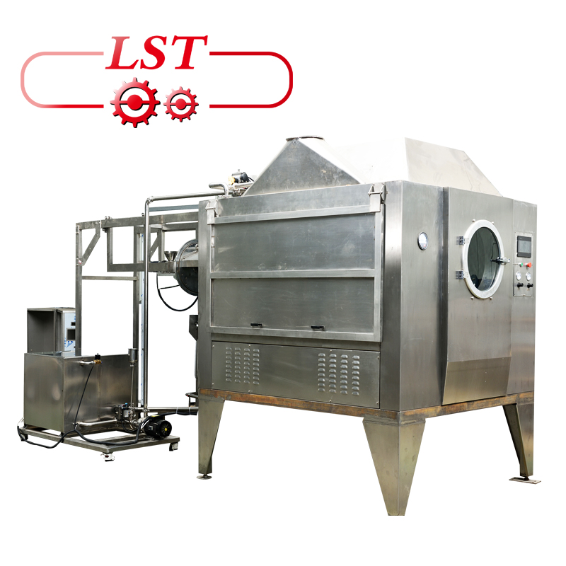 Coating Machine Hot Chocolate Dispenser Machine Stainless Steel Polishing Machine