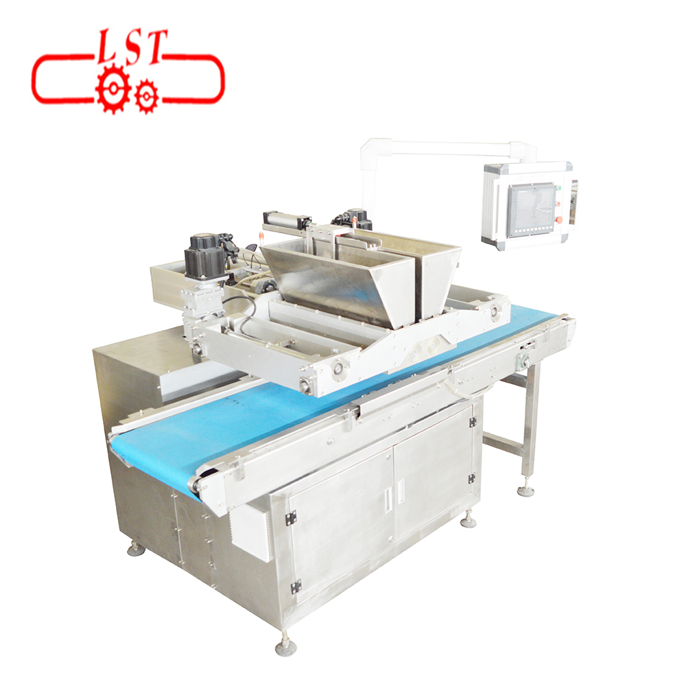 Auto depositing machine 4-12 mpm 3D  cartoon pattern chocolate depositor machine