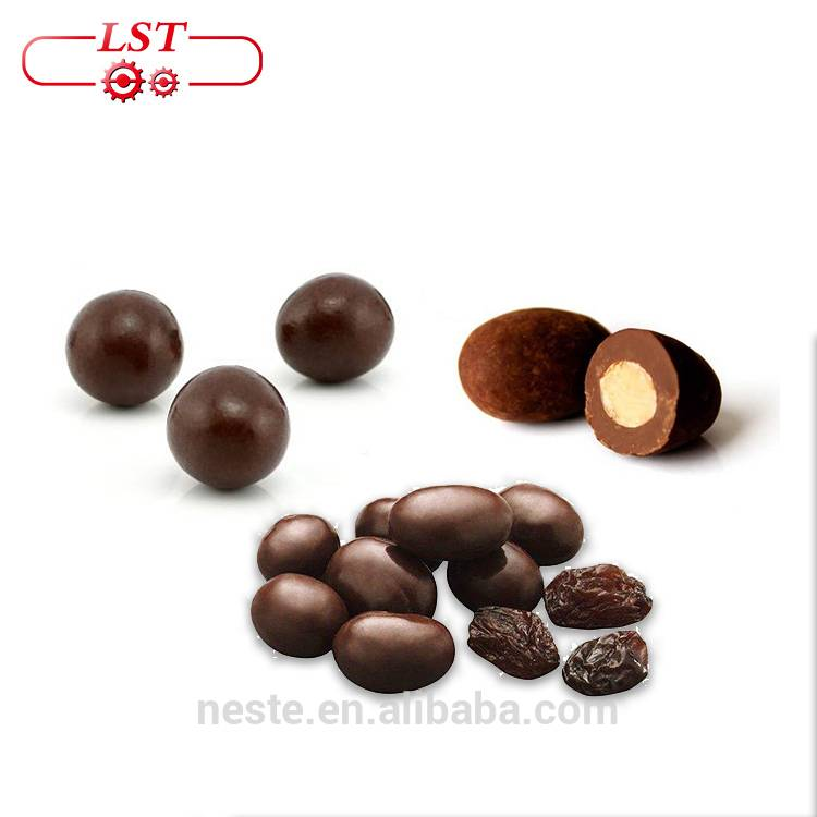 Chocolate polishing machine chocolate beans coating molding machine for peanuts raisins almonds