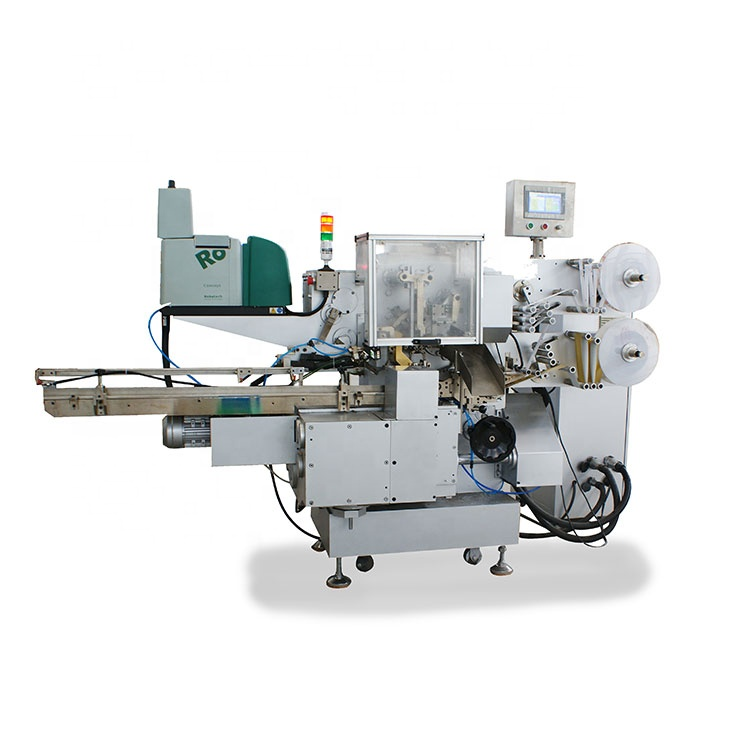 Multi Function Fold Wrapping Machine Chocolate Folding Packing Machine Small Sale Packaging Machine