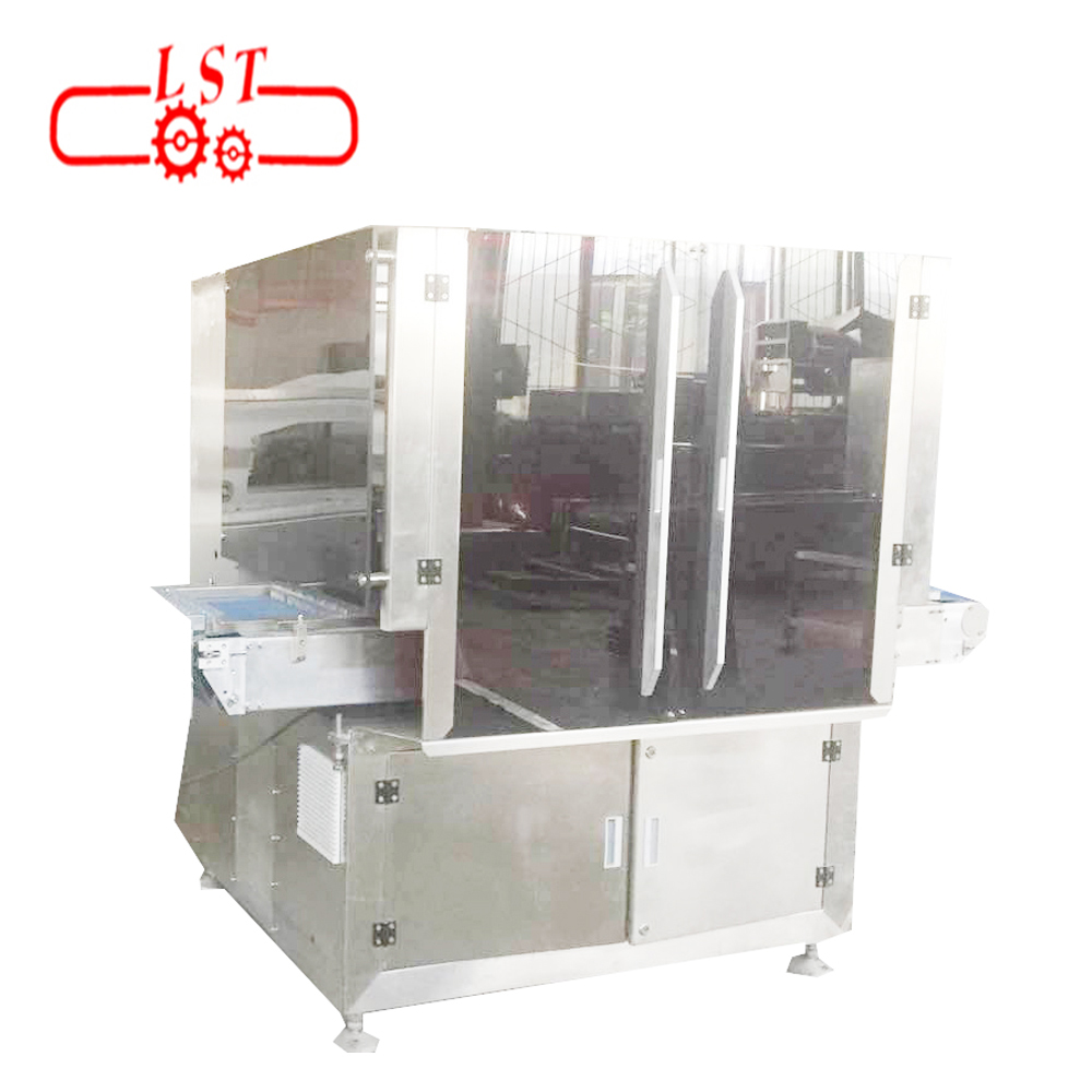 Combined type Mould heating vibrating cooling machine with chocolate depositing  machine