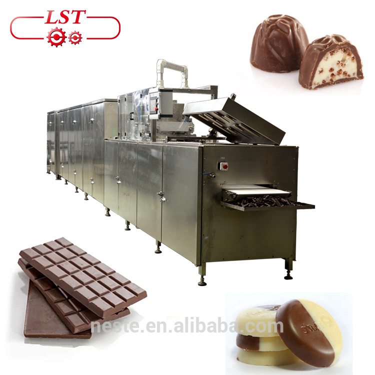 Automatic chocolate machine industrial machine of making chocolate with low price