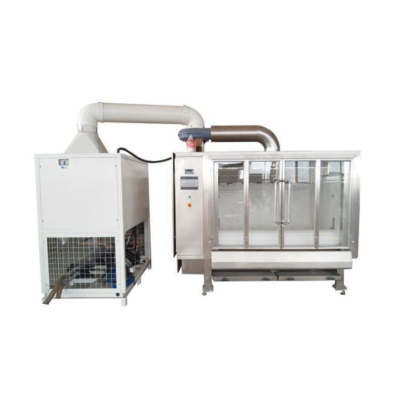 Belt Type Chocolate Coating Machine Chocolate Bean Making Machine And Polishing Machine