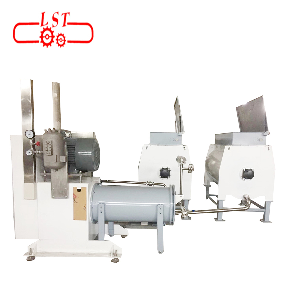 Auto chocolate cocoa ball mill 1 ton per hour manuafactures