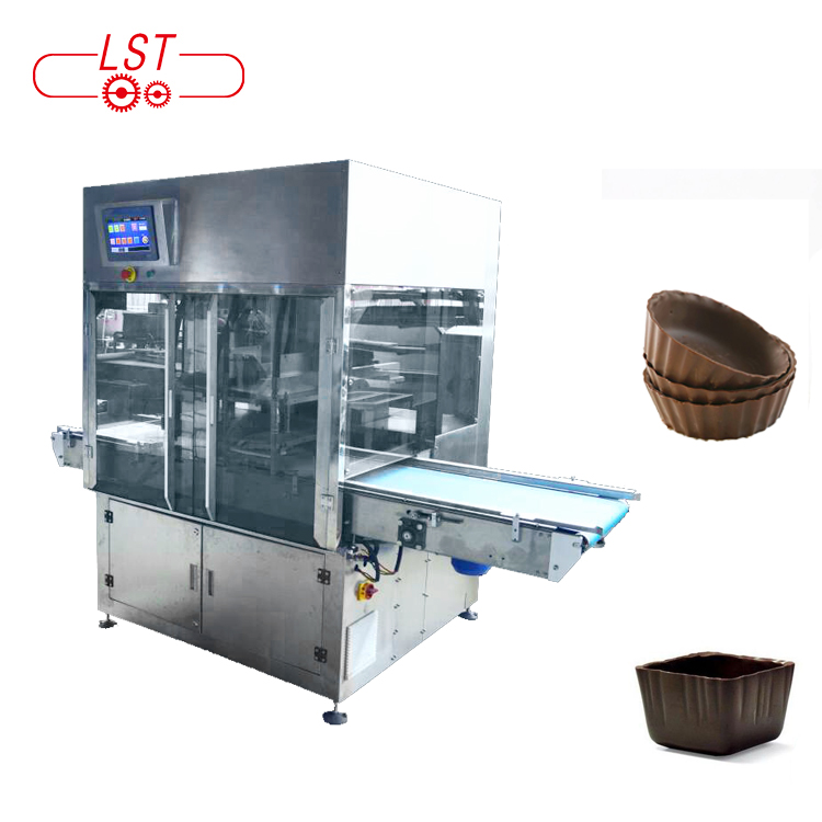 High quality industrial automatic chocolate press moulding machine