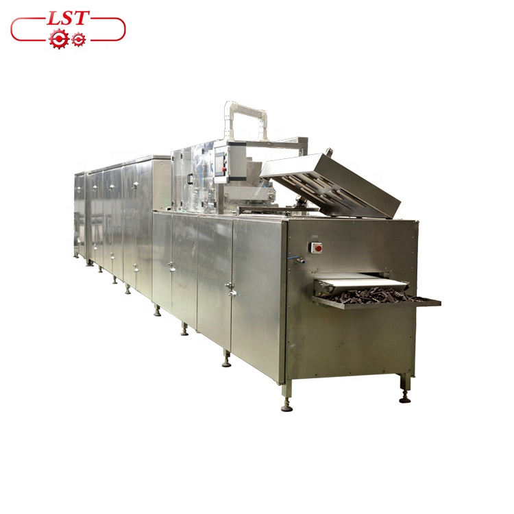 Automatic wafer biscuit coating machine chocolate stick biscuit machine production line