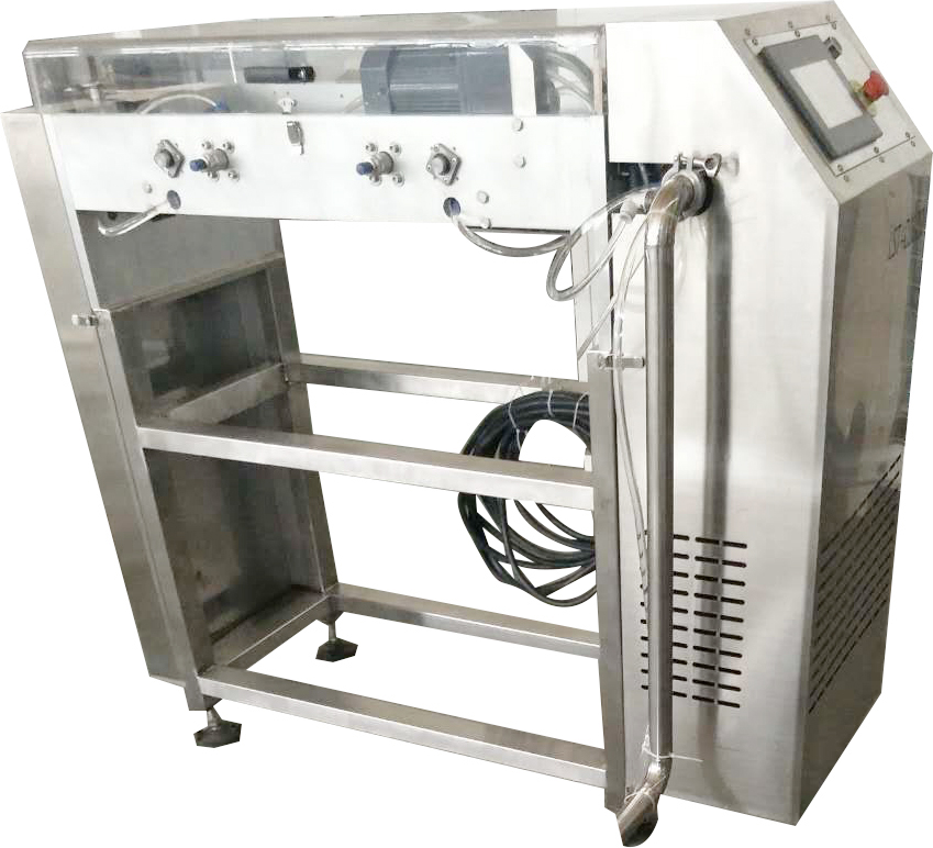 Full automatic button shape chocolate chips depositor machine