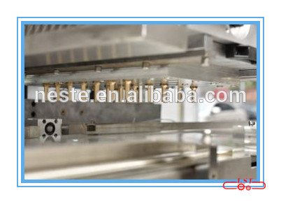 Pouring chocolate molding machine, chocolate moulding line