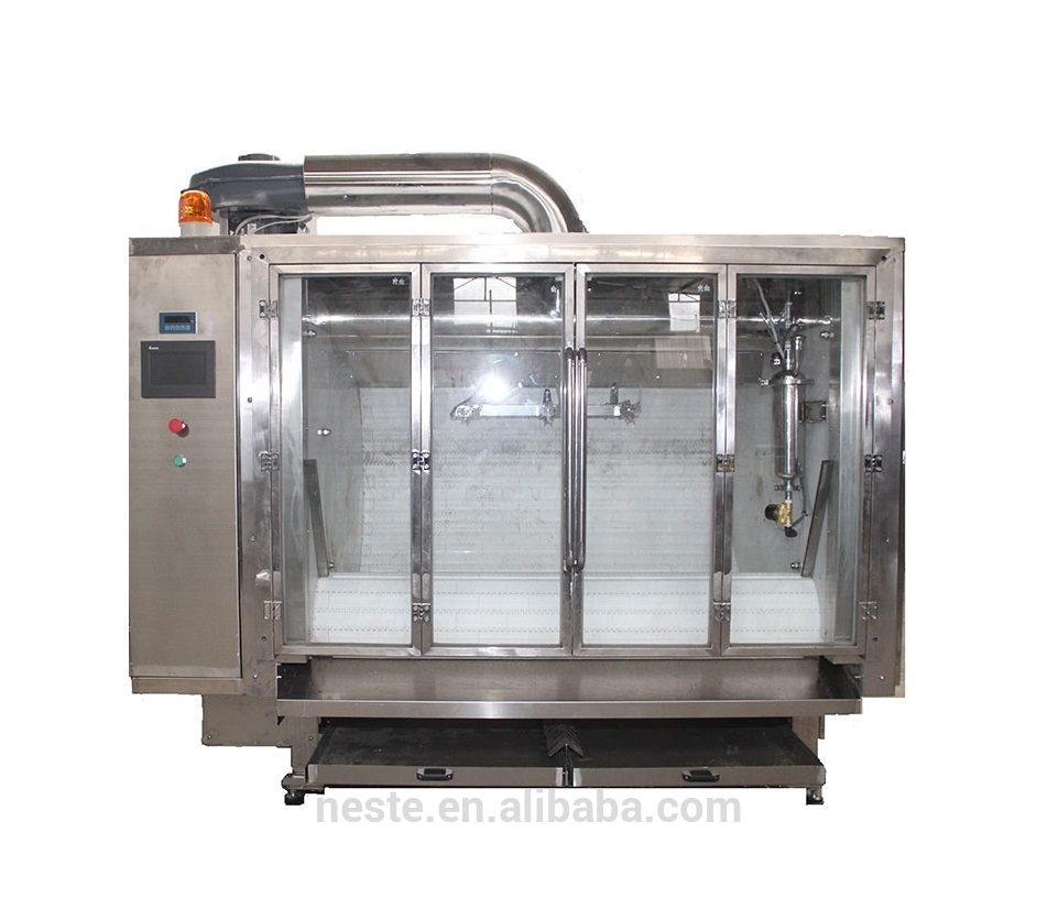 Nuts peanut chocolate coating machine for peanuts, raisins , almonds chocolate machine
