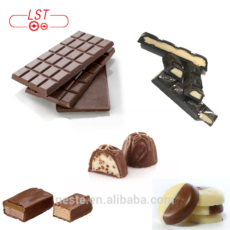 Top quality chocolate biscuit making manufacture plant chocolate equipment factory