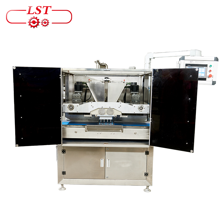 Semi Automatic Chocolate Depositing Moulding Machine For Chocolate Making