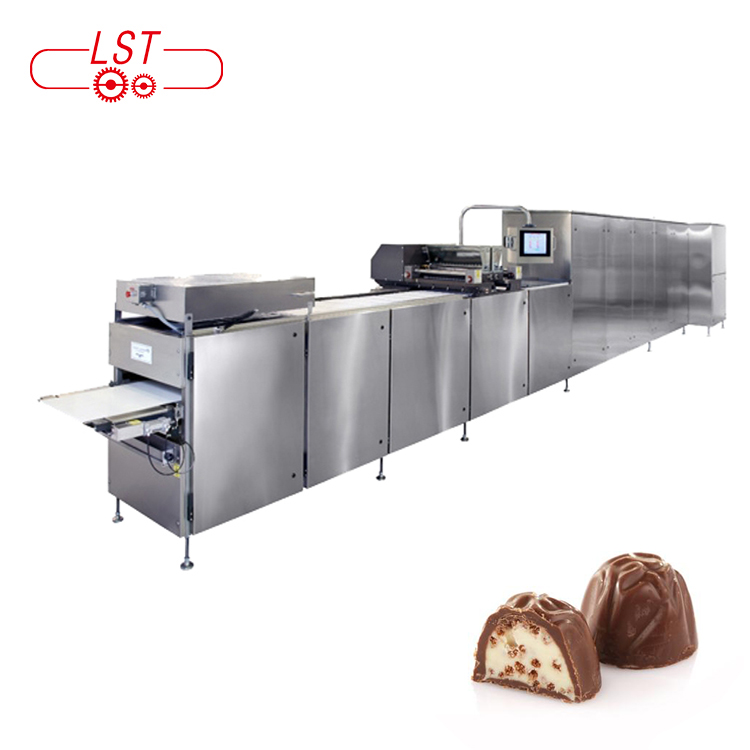 Kit Kat chocolate production line chocolate molding machine