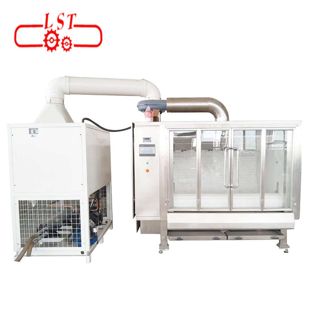 Automatic almond polishing machine for food pro...