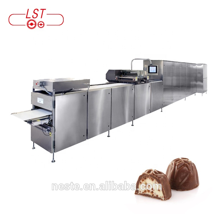 Full automatic chocolate making machine wafer biscuit production line for food factory
